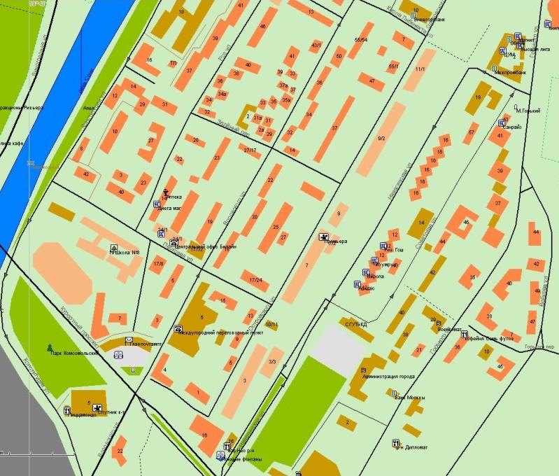 Сайт GPS карты Сочи